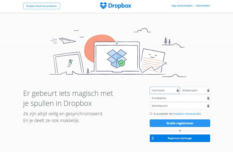 growth hacking dropbox
